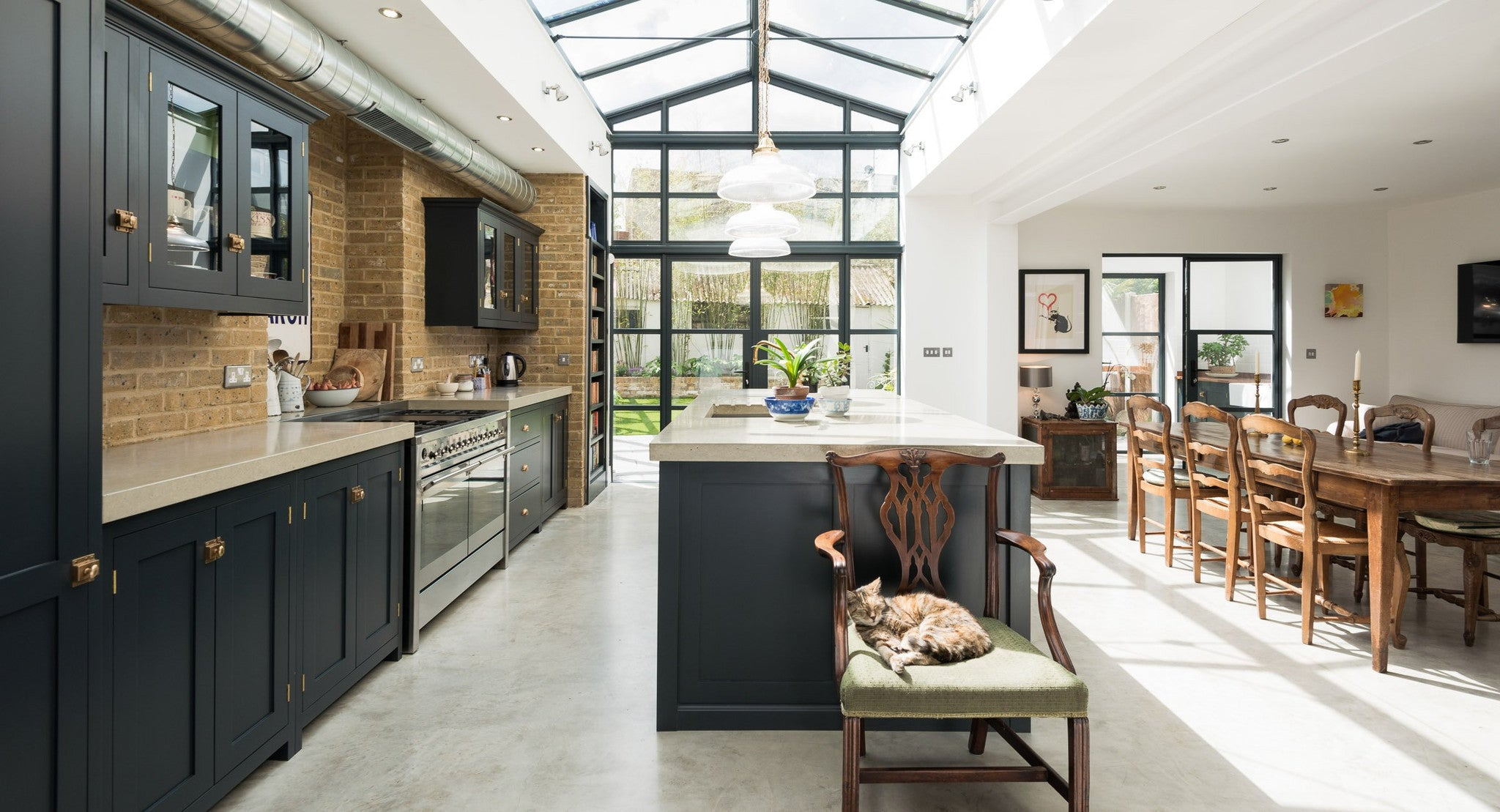 Our top 5 Bespoke Kitchens of 2016 The Natural Living pany