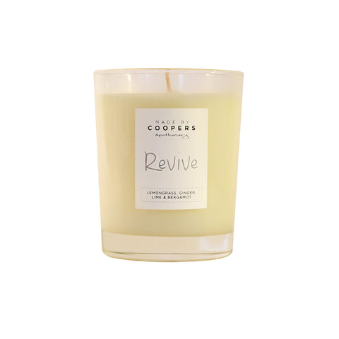 Lemongrass, Ginger, Lime + Bergamot Soy Candle