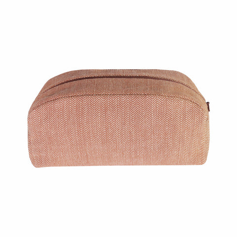 Brick Herringbone Wash Bag