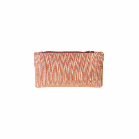 Brick Herringbone Coin Purse