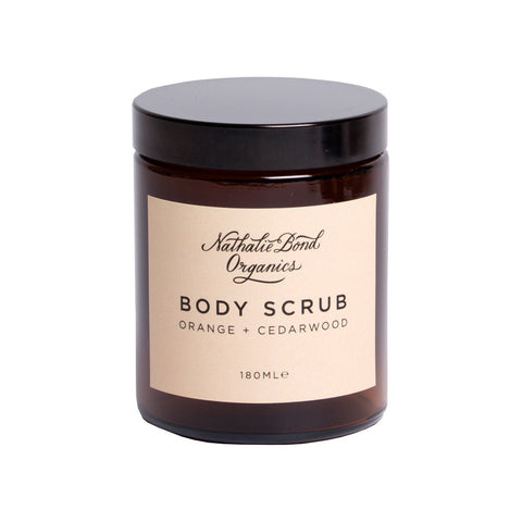 Orange + Cedarwood Body Scrub