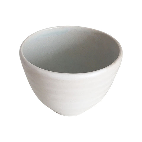Small Stoneware Bowl - Aqua
