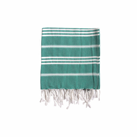 Harlyn Green Striped Hand Towel