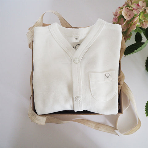 Newborn Thought Box - White