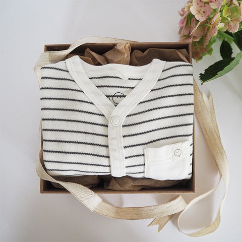 Newborn Thought Box - Striped
