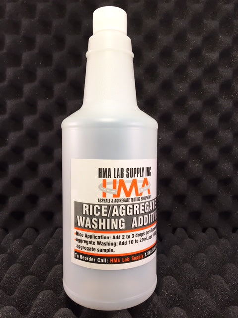 32 oz Bottle Rice/Aggregrate Washing Additive