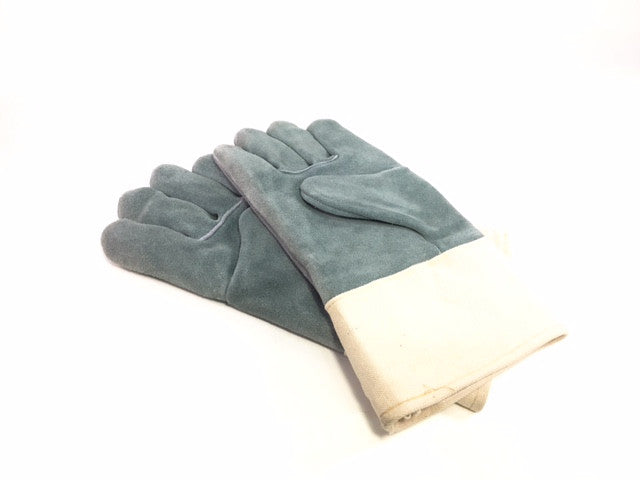 Welding Gloves - Suede Leather, Wool Lined