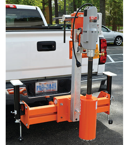 Adjustable Hitch Mount & Hitch Mount Core Rig | HMA Lab Supply
