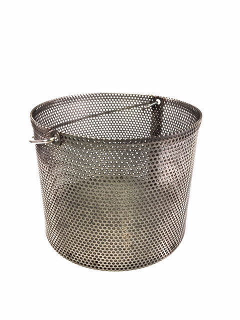 "HMA's Coarse Aggregate Density Basket with 0.125"" Holes"
