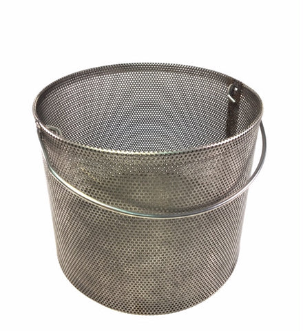 "HMA's Coarse Aggregate Density Basket with 0.0787"" Holes"