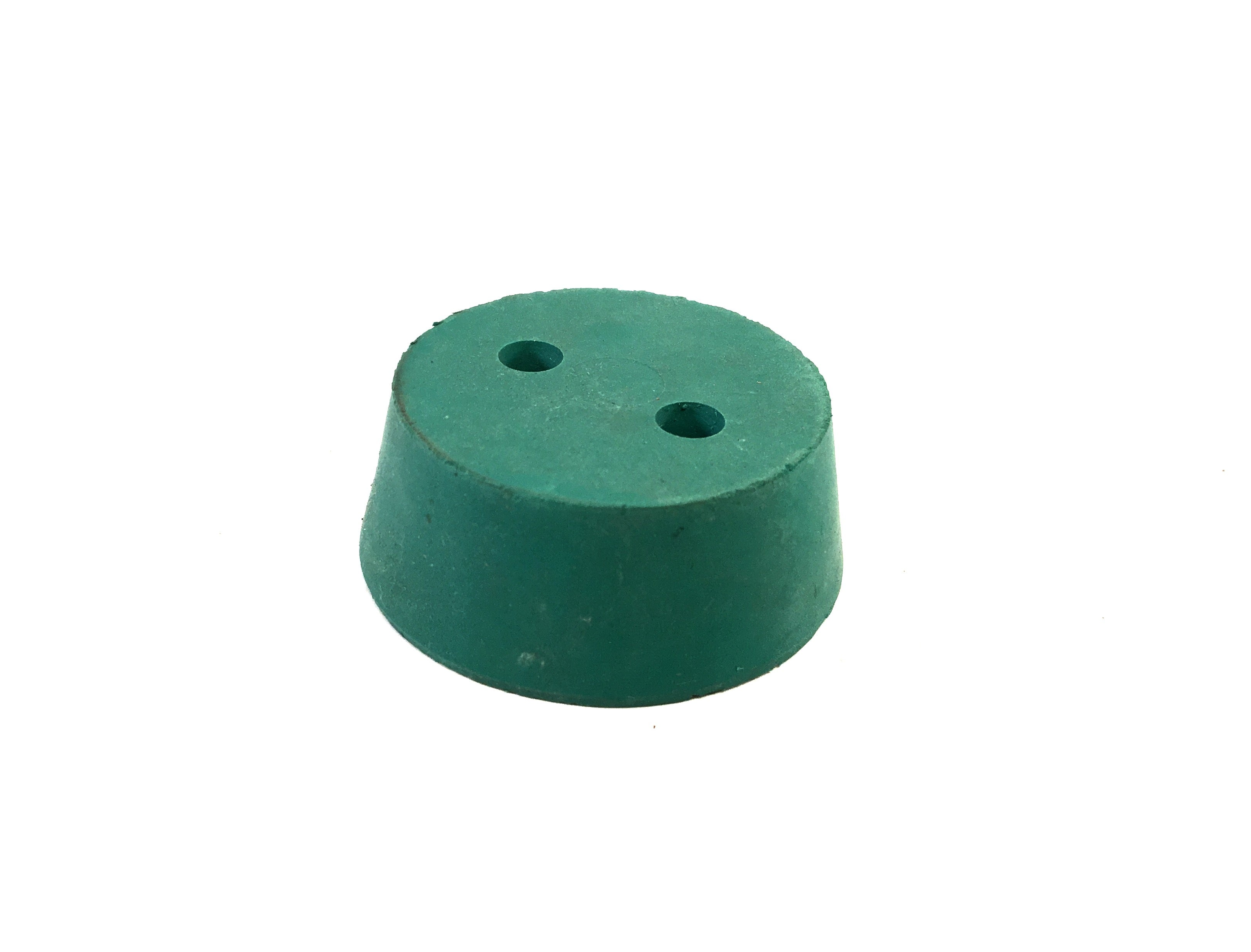 Neoprene #12 Stopper - w/ 2, 8mm holes