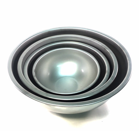 Stainless Steel Bowl Available in 3qt, 5qt, 8qt, and 13.5qt