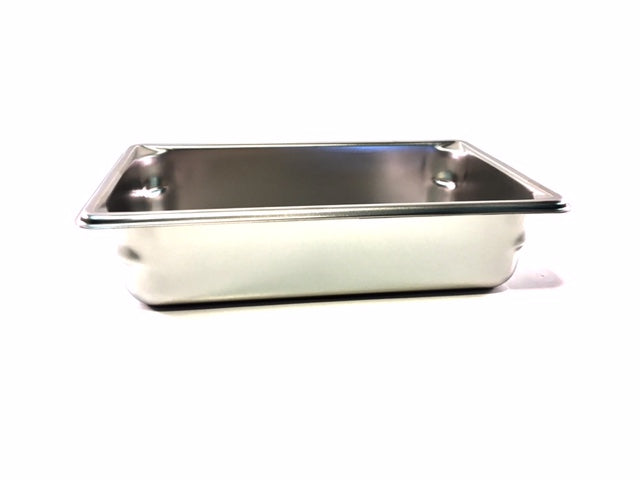 10'' x 6'' x 2 1/2'' Deep Stainless Steel Pan