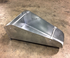 Gyratory Loading Scoop, Galvanized