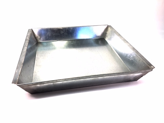 Galvanized Steel Pans in 5 Different sizes, Please Select Size.