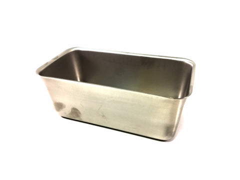 "10"" x 5.5"" x 4"" Inches Deep Stainless Steel Pan"