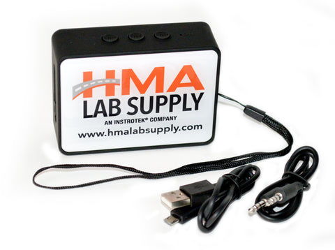 FREE - HMA Lab Supply Bluetooth Speaker - with any online order of $1000 or more