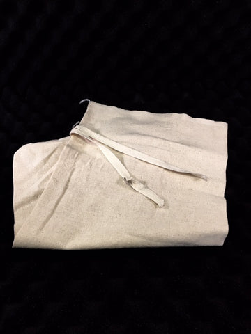 Osnaburg Woven Cotton Sample Bag