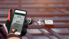 SmartRock2™ - Real-time temperature and maturity monitoring of concrete