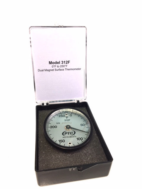 "2"" Dial Surface Thermometer - Available in Two Different Temperature Ranges"