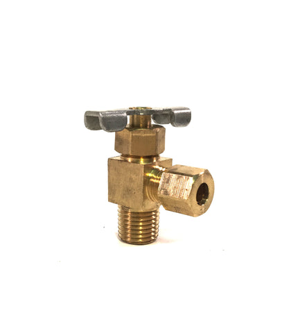 Vacuum Release Valve for Pycnometer Lid
