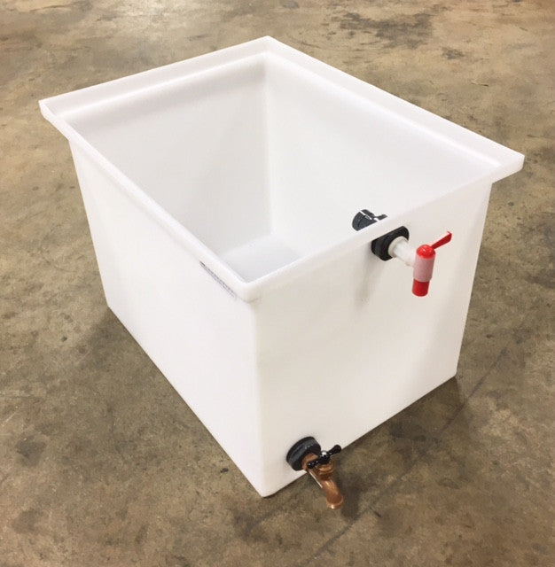 30-Gallon Molded Polyethylene Tank Complete