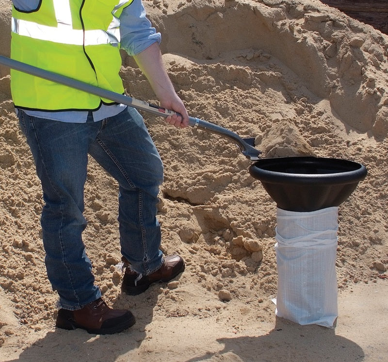 Bag Buddy - Filling Funnel for Aggregates or Hot Mix Asphalt