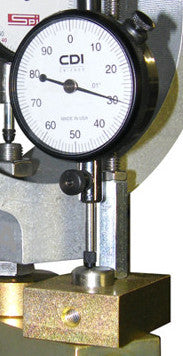 Flow Meter with Dial Gauge Indicator