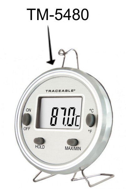 Digital Max | Min Thermometer,  -58° to 302°F with NIST Traceable Certificate
