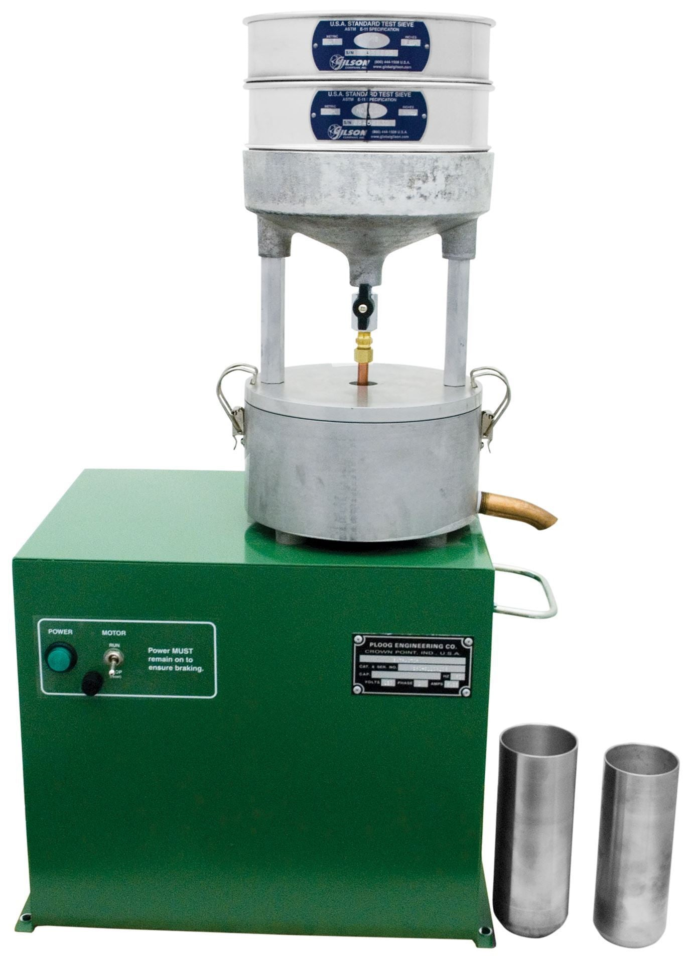 Continuous Flow Filterless Centrifuge
