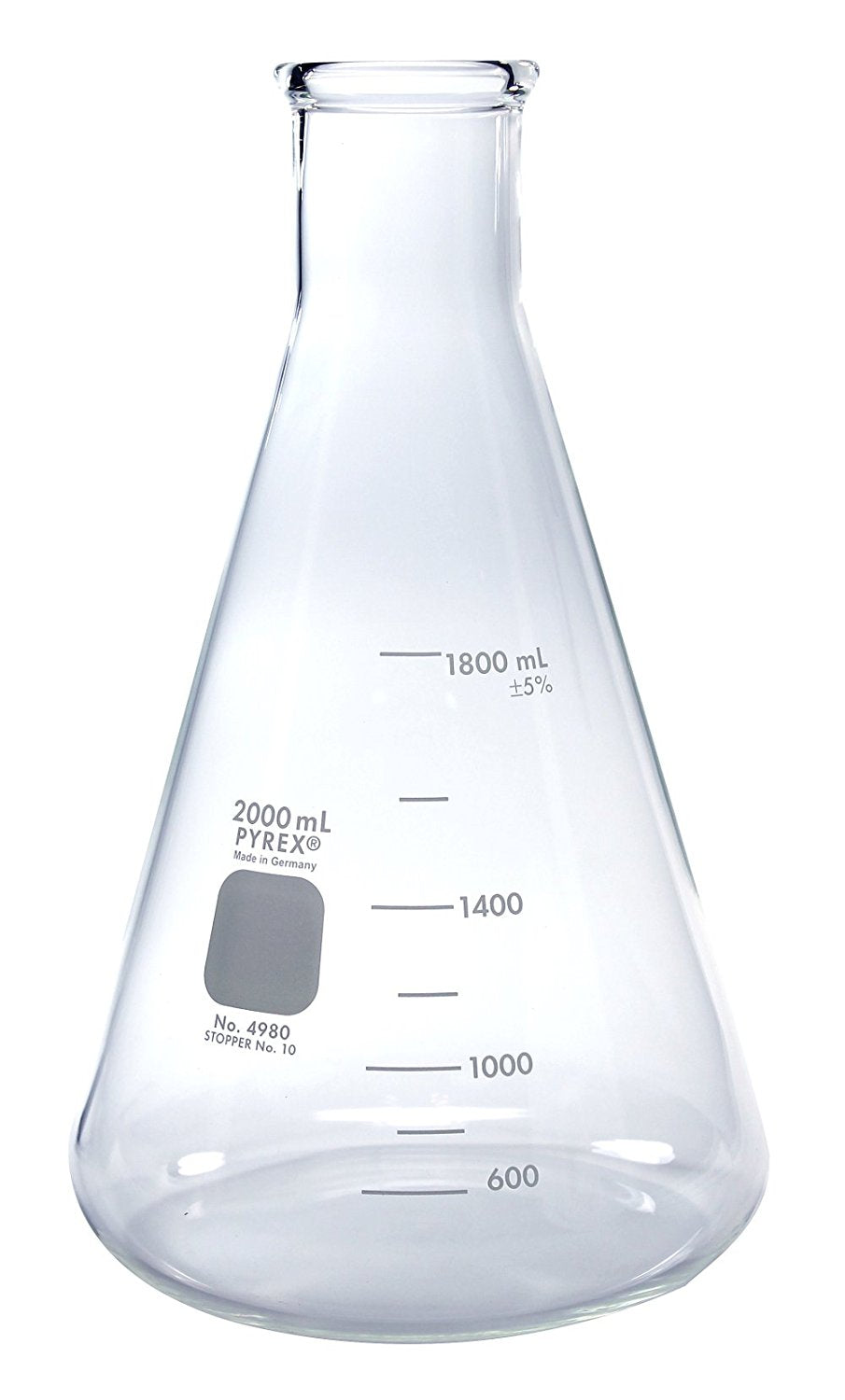 2000ml Erlenmyer Flask