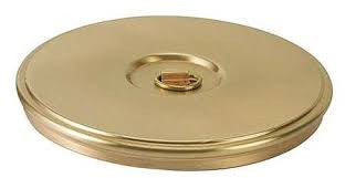 "12"" Brass Sieve Cover Lid"