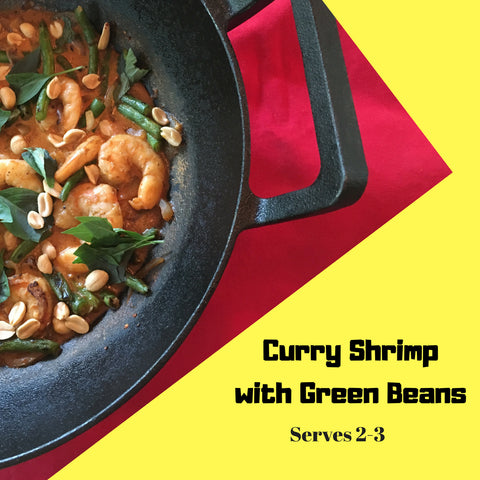 Curry Shrimp With Green Beans