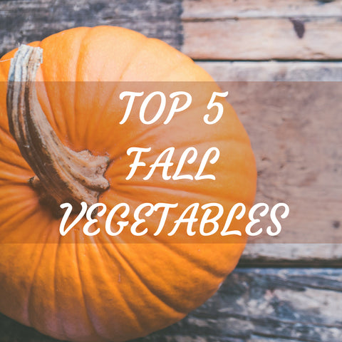 TOP 5 FALL VEGETABLES