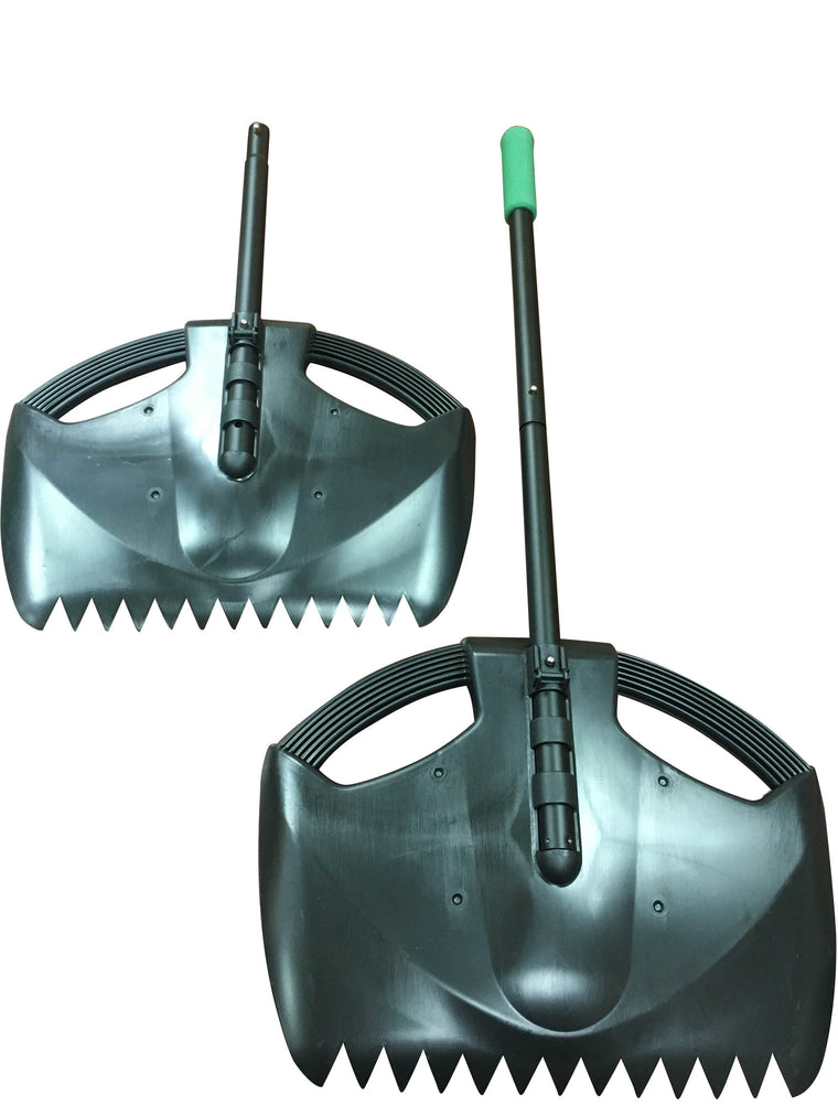 4-in-1 Leaf Rake and Scooper