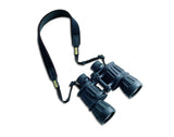 Vero Vellini Slip-proof Binocular Strap (Black / Black Leather)