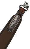 Vero Vellini Premium Rifle Sling (Brown Neoprene / Brown Leather)