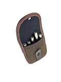 Vero Vellini 5-Round Cartridge Case (Brown Leather and Loden)