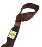 Vero Vellini Standard Shotgun Sling (Black Neoprene / Brown Leather)