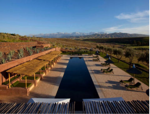 Morocco wellness retreat