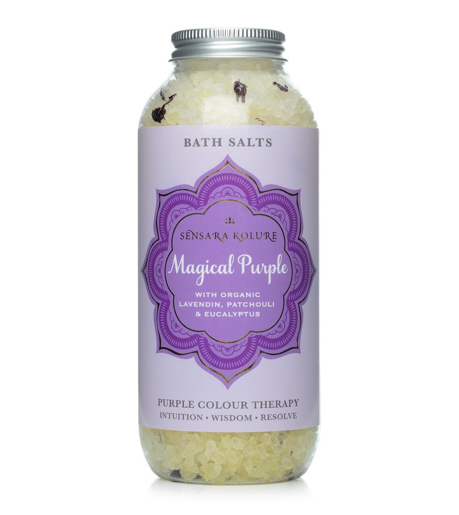 Magical Purple Aromatherapy Bath Salts 400g