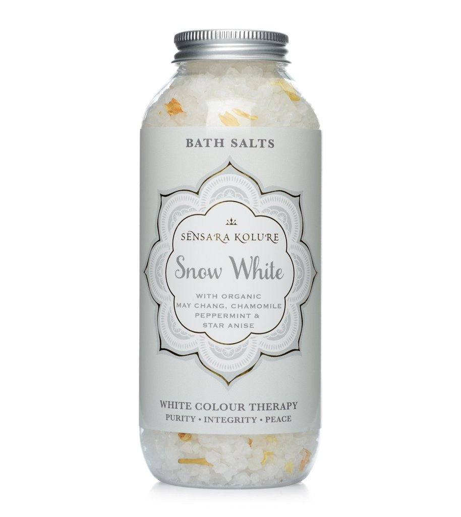 Snow White Aromatherapy Bath Salts 400g