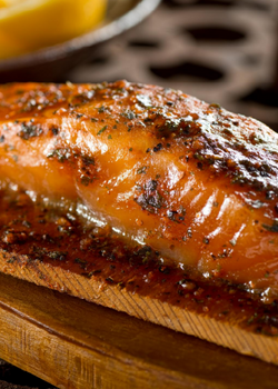 Garlic Brown Sugar Salmon