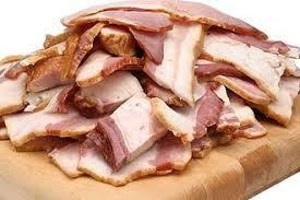 Berryman meat Bacon Ends. - 1 lb. / Package