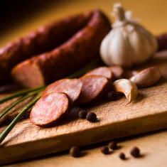 "Berryman meat Smoked Sausages - Dutch Ring ""Rookworst"" - Approx. 1/2 lb packages"
