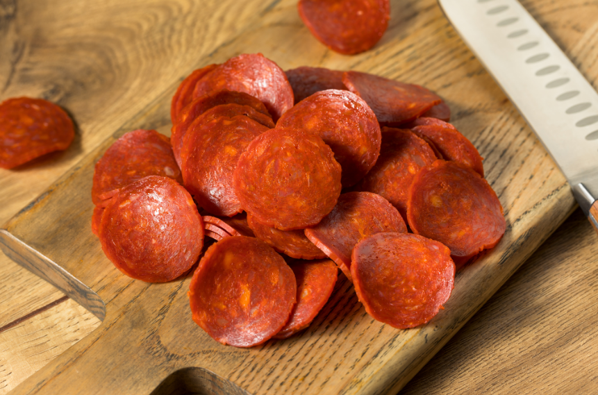 Sliced Pizza Pepperoni