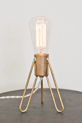 Retronaut Rocket Lamp