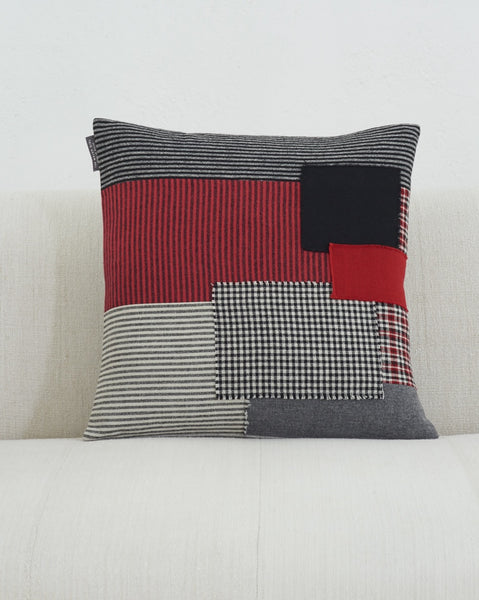 Patchwork Cushion IX
