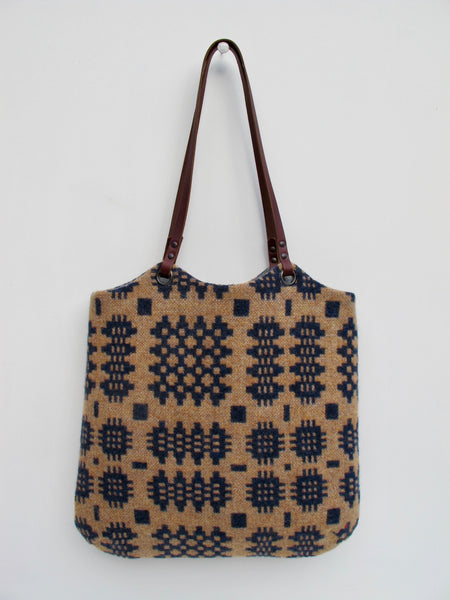NEW Tapestry Tote - Indigo Blue & Mixed Spice II