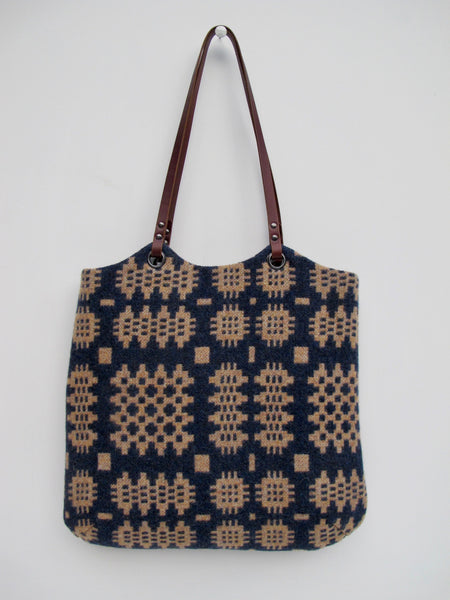 NEW Tapestry Tote - Indigo Blue & Mixed Spice I